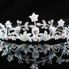 Sparkle Wedding Tiara,Elegant Princess Silver Swarovski Bride Bridal tiara 510