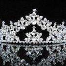 Sparkle Wedding Tiara,Elegant Queen Silver Swarovski Bride Bridal tiara 537