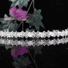 Sparkle Wedding Tiara,Elegant Princess Silver Rhinestone Bride Headband Bridal tiara 4055s