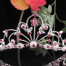 Alloy Floral Wedding Tiara,Elegant Princess Silver Rhinestone Bride Headband Bridal tiara 5261r