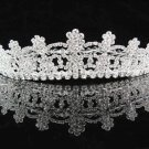 Alloy Floral Wedding Tiara,Elegant Princess Silver Rhinestone Bride Headband Bridal tiara 5445