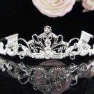 Stunning Wedding Tiara,Elegant Silver Rhinestone Bride Headpiece Bridal tiara 5851