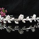 Stunning Alloy Crystal Wedding Tiara,Silver Rhinestone Bride Headband, Bridal tiara cn137
