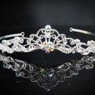 Vintage Crystal Bridal Tiara;Silver Alloy Rhinestone Wedding Headpiece Comb 1003