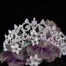 Silver Crystal Wedding Headpiece,Gorgeous Bridal Tiara Crown 920