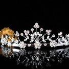 Crystal Wedding Headpiece;elegance Silver Bridal Tiara 4632