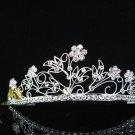 Alloy Crystal Wedding Headpiece;elegance Silver Bridal Tiara 5788s