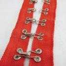 Hook and Eye Metal Buckle Tape;Garment Accessories;Sewing Notion Tool Trim #HIR