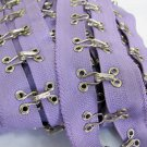 Garment Accessories;36 inch Hook and Eye Metal Buckle Tape;Sewing Notion Tool Trim #HIpu