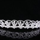 Crystal Wedding Headpiece;elegance Silver Bridal Tiara 376