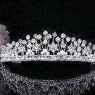 Crystal Wedding Headpiece;elegance Silver Bridal Tiara 439