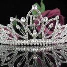 Happy Birthday Sweet 15 Crystal Princess Tiara;Silver Crown Regal #5