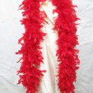 48g Turkey Feather Fringe ;Coque Rooster fluffy Marabou feather boa #f50r