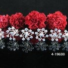 6 PCS BRIDAL HAIRPIN;SILVER BLUE CRYSTAL WEDDING HAIR PIN #1963B