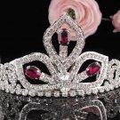 Sparkle Beautiful Silver Wedding Tiara;Elegance Crystal Rhinestone Bridal Tiara ; Bride Regal#914r