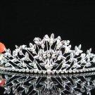 Sparkle Beautiful Silver Wedding Tiara;Elegance Crystal Rhinestone Bridal Tiara ; Bride Regal#1189