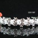 Sparkle Beautiful Silver Wedding Tiara;Elegance Crystal Rhinestone Bridal Tiara ; Bride Regal#1197