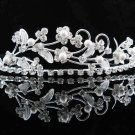 Sparkle Beautiful Silver Wedding Tiara;Elegance Crystal Rhinestone Bridal Tiara ; Bride Regal##1542