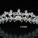 Silver Wedding Headpiece ;Sparkle Elegance Crystal Rhinestone Bridal Tiara ;Wedding headband#338