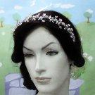 Wedding Headpiece ;Crystal Rhinestone Floral Alloy Bridal Tiara ;Wedding Veil headband#2016