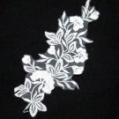 Floral Lace Wedding Headpiece;Ivory Floral Bridal Tiara ; Bride Headpiece#13