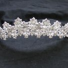 Elegance Peacock Crystal Bridal Tiara ; Silver Rhinestone Wedding Headpiece ;Wedding headband#1069