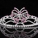 Bridal Tiara;Silver Rhinestone Wedding Headband;Butterfly Headpiece;bride Hair accessories #5850p