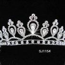 Bridal Tiara;Silver Rhinestone Wedding Headband;Elegance Headpiece;bride Hair accessories #1154