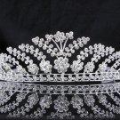 Bridal Tiara;Silver Rhinestone Bride Wedding Headpiece ;Fancy Headpiece;bride Hair accessories#783