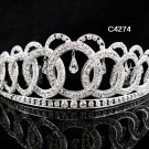 Bridal Tiara;Silver Rhinestone Bride Wedding Headpiece ;Fancy Headpiece;bride Hair accessories#4274