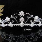 Bridal Tiara;Silver Rhinestone Wedding Headband;Sweetheart Headpiece;bride Hair accessories#540