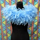 50g Feather Fringe Shawl;Coque Rooster fluffy scarves stole;Marabou feather boa wrap#8