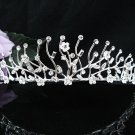 Bride Hair accessories ;Elegance Bridal Tiara;Silver Crystal Rhinestone Wedding Headband#1370