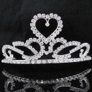 Bride Hair accessories ;Elegance Bridal Tiara;Silver Crystal Rhinestone Wedding Headband#8521