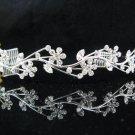 Bride Hair accessories ;Elegance Bridal Tiara;Fancy Silver Rhinestone Floral Wedding Headband#5305s
