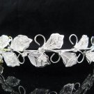 Fancy Vine Bride Hair accessories;Bridal Tiara;Silver Rhinestone Floral Wedding Headband#1609s