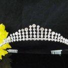 Fancy Bride Hair accessories;Elegance Bridal Tiara;Silver Rhinestone Wedding Headband#571