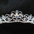 Fancy Bride Hair accessories;Filigree Bridal Tiara;Silver Rhinestone Wedding Headband#11bl