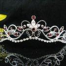 Fancy Bride Hair accessories;Filigree Bridal Tiara;Silver Rhinestone Wedding Headband#11DR