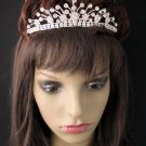 Rhinestone Wedding Tiara;Bride Hair accessories;Fancy Silver Crystal Bridal Tiara#519
