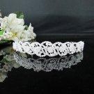 Fancy Silver Crystal Bridal Tiara;Rhinestone Wedding Tiara;Bride Hair accessories#2673