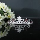 Fancy Silver Crystal Bridal Tiara;Rhinestone Wedding Tiara;Bride Hair accessories#1151pu