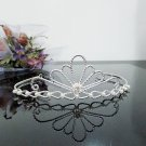 Fancy Silver Crystal Bridal Tiara;Rhinestone Wedding Tiara;Bride Hair accessories#1159