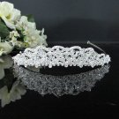 Rhinestone Wedding Tiara;Fancy Silver Crystal Bridal Tiara;Bride Hair accessories#4686