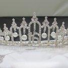 15 or 16 Birthday Tiara;Silver Sweetheart Crystal Occasion Tiara;Fashion Hair accessories#6185