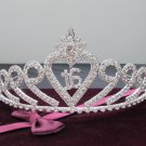 15 or 16 Birthday Tiara;Silver Sweetheart Crystal Occasion Tiara;Fashion Hair accessories#7046