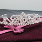 Huge 15 or 16 Birthday Tiara;Silver Sweetheart Crystal Occasion Tiara;Fashion Hair accessories#7951
