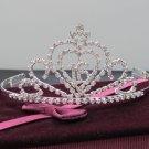 Silver Sweetheart Crystal Occasion Tiara;Huge 15 or 16 Birthday Tiara;Fashion Hair accessories#8977