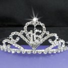Silver Sweetheart Crystal Occasion Tiara;Huge 15 or 16 Birthday Tiara;Fashion Hair accessories#9014
