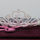 Silver Crystal Occasion Tiara;Delicate 15 or 16 Birthday Tiara;Fancy Fashion Hair accessories#29